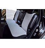Авточохли - накидки з алькантари універсальні на всі марки автомобілів, фото 3