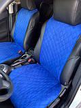 Авточохли - накидки з алькантари універсальні на всі марки автомобілів, фото 4