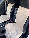 Авточохли - накидки з алькантари універсальні на всі марки автомобілів, фото 6