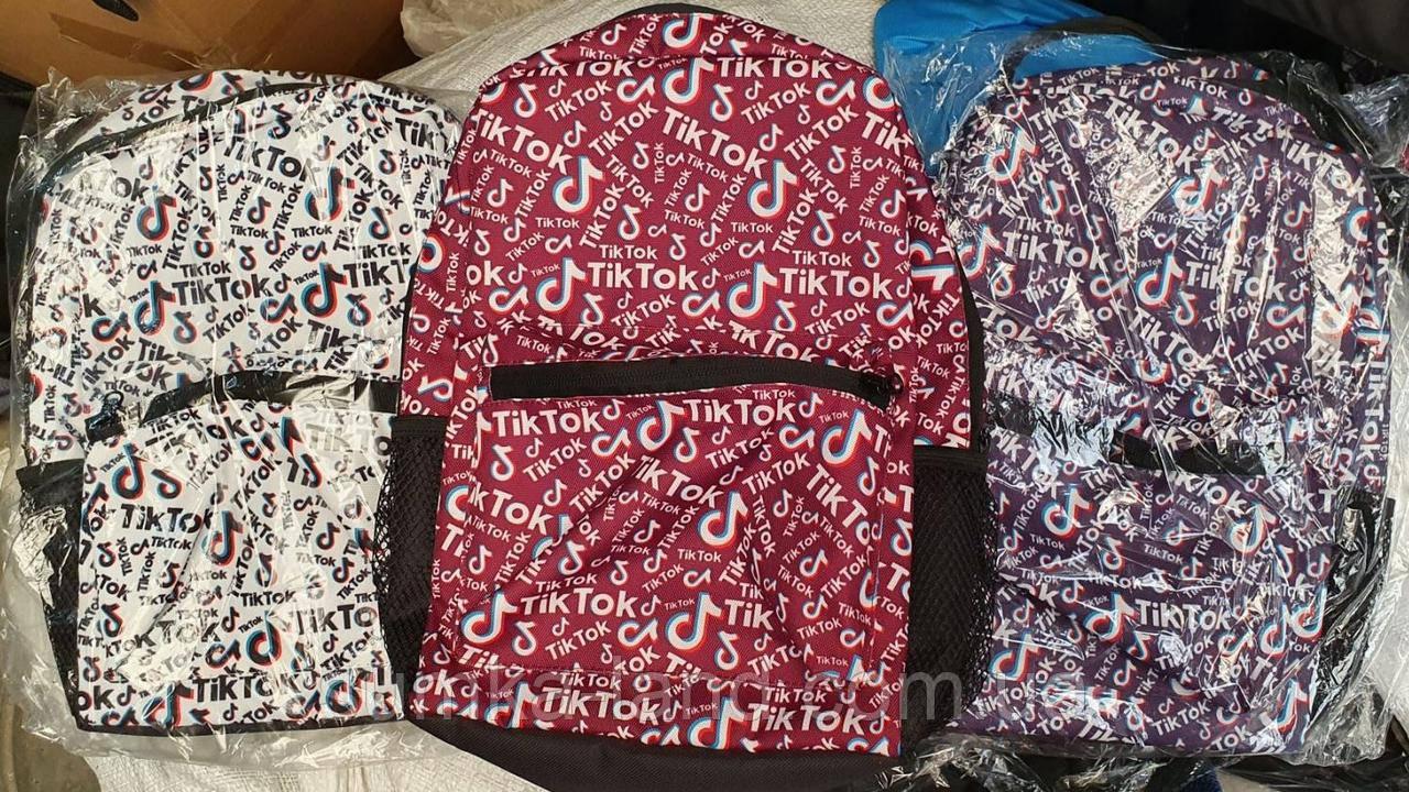 Городские текстильные рюкзаки Instagram, Тик Ток 24*32 см