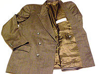"""Пиджак шерстяной двубортный """"Correges homme"""" (р.50)"""
