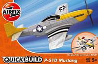 """Сборная модель """"Истребитель Mustang P-51D (Lego сборка)"""""""