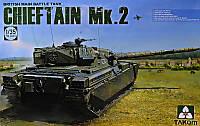"""Сборная модель  """"Британский основной боевой танк Chieftain Mk.2 """""""
