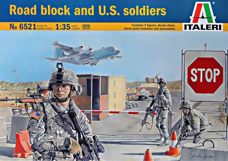 Блокпост с американскими солдатами