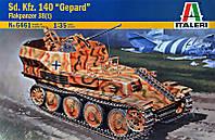 """Сборная модель  """"САУ Sd.Kfz. 140 """"Gepard"""" Flakpanzer 38 (t) """""""