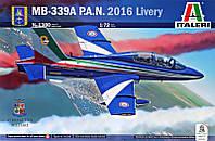 """Сборная модель """"Учебно-тренировочный самолет MB-339, 2016 г."""""""