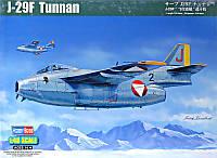 """Сборная модель """"Истребитель J29F """"Tunnan"""""""""""