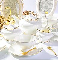 """Фарфоровый чайный сервиз на 6 персон """"Королевский"""" 264-650, фото 1"""