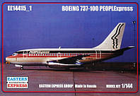 "Сборная модель ""Авиалайнер Boeing 737-100 Peoplexpress"""