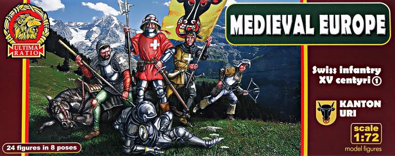 Швейцарская пехота. Кантон Ури, XV век