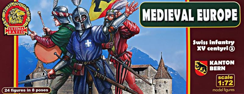 Швейцарская пехота. Кантон Берн, XV век