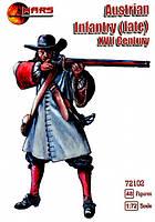 Австрийская пехота, конец XVII века