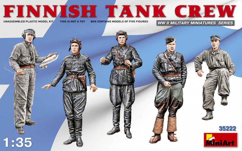 Финский экипаж танка