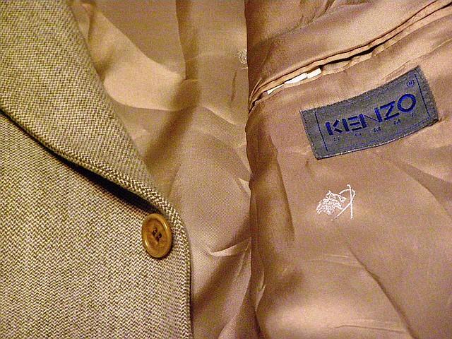 Пиджак шерстяной KENZO (р.52-54)