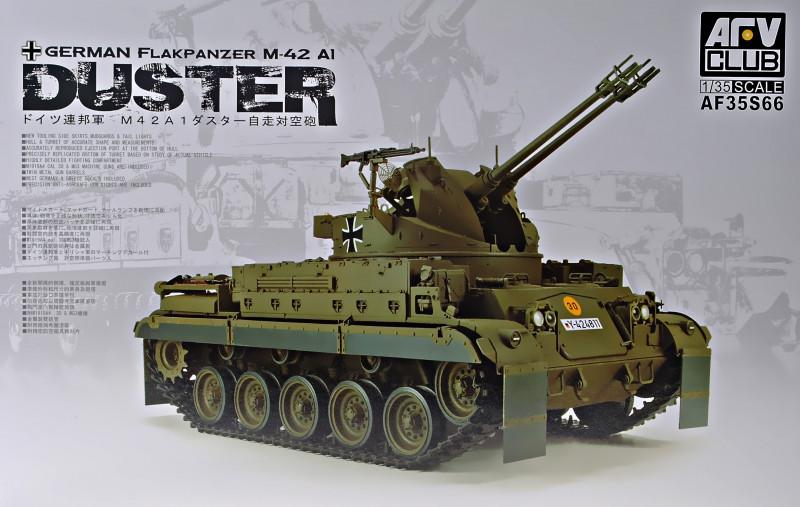 """Сборная модель  """"Зенитная самоходная установка M42A1 """"Duster"""" """""""