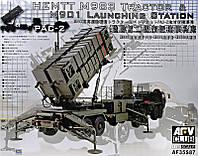 """Сборная модель  """"Тягач Hemtt M983 с пусковой установкой M901 """""""