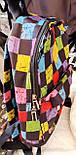 Городские текстильные рюкзаки с модными принтами 21*28 см, фото 3