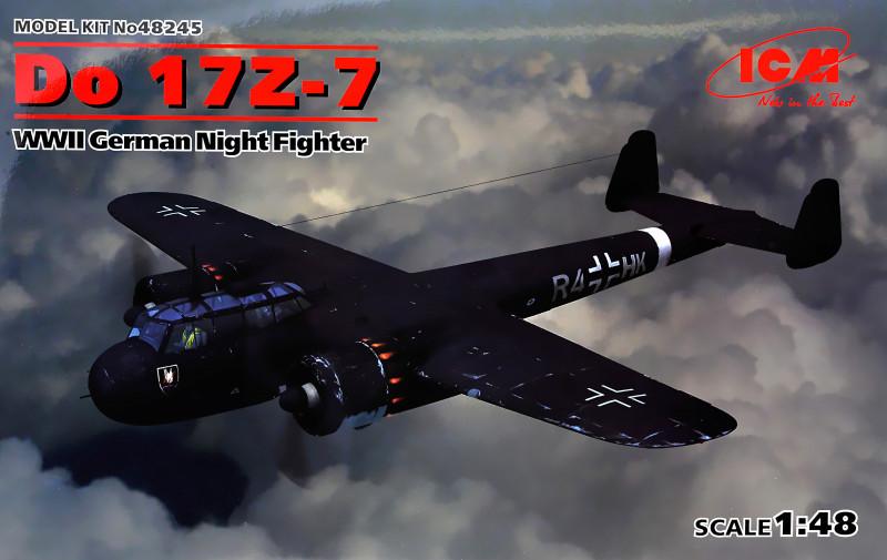 """Сборная модель """"Немецкий ночной истребитель Do 17Z-7, 2 МВ"""""""