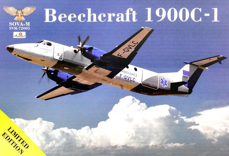 """Сборная модель """"Санитарный авиалайнер Beechcraft 1900С-1"""""""