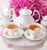 Чайный сервиз фарфоровый Вивьен на 6 персон 264-200