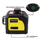 Лазерный уровень нивелир 3D Firecore F93TG в кейсе, фото 2