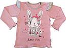 Дитяча піжама ріст 86 1 рік-1,5 року інтерлок рожевий на дівчинку для малюків Р-086, фото 2