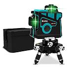 Лазерный уровень HILDA 3D + Штатив БИРЮЗОВЫЙ ЛУЧ, фото 2