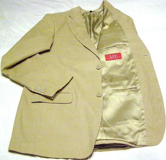 Пиджак микро вельветовый LIV (52-54)