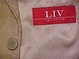 Піджак мікро вельветовий LIV (52-54), фото 2