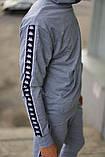 Спортивний костюм сірий Kappa, фото 5