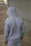 Спортивний костюм сірий Kappa, фото 6