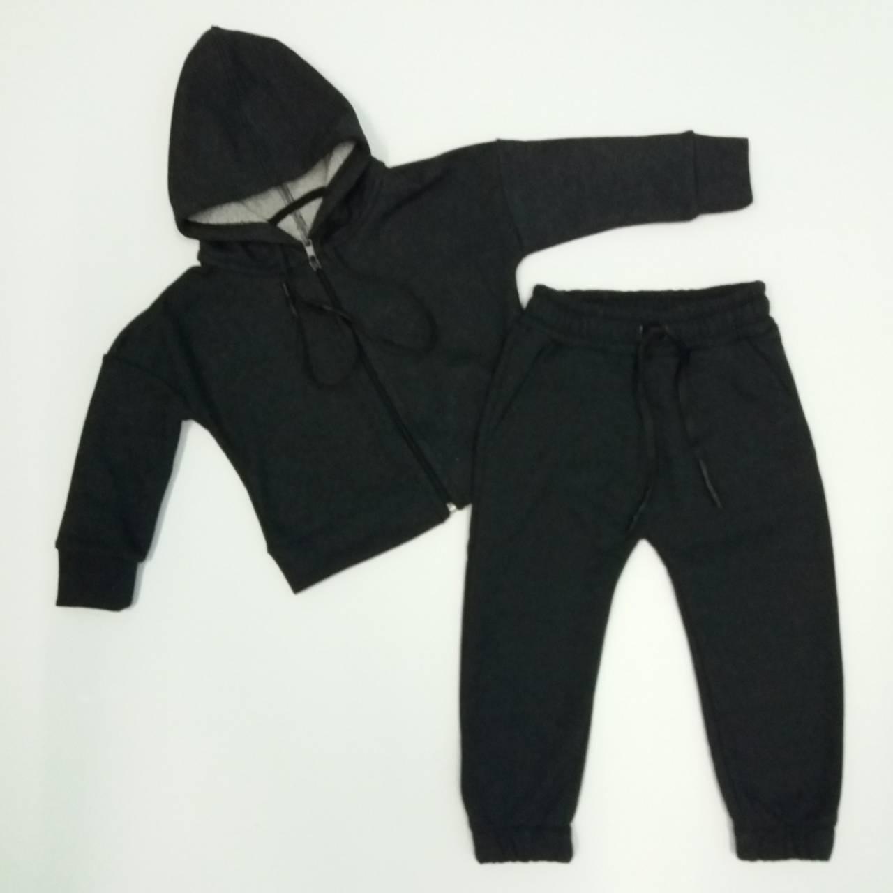 Спортивний костюм для хлопчика 2-6 років байка трьохнитка петельна