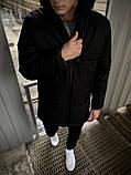 """Демисезонная Куртка """"Fusion"""" бренда Intruder черная, фото 4"""