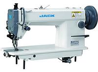 Jack JK-6380 Одноигольная машина челночного стежка с нижним и верхним транспортером