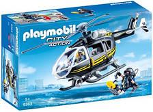 Игрушечный набор Playmobil Спасательный вертолет 9363