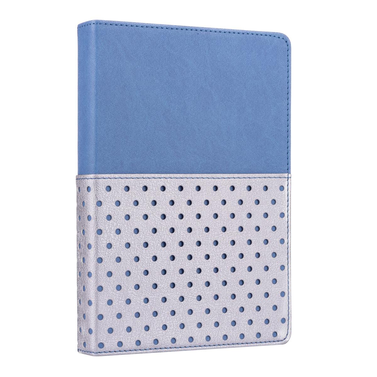"""Ежедневник А5 недатированный YES """"Salsa"""", тверд., 432 стр., стальной синий код: 252054"""