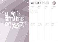 """Ежедневник А5 недатированный YES """"Salsa"""", тверд., 432 стр., стальной синий код: 252054, фото 10"""