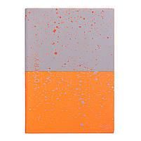 "Ежедневник А5 недатированный YES ""Giovanni"", мягк., 432 стр., серый/оранжевый код: 252060, фото 2"