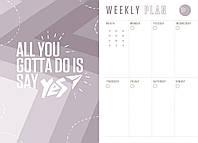 "Ежедневник А5 недатированный YES ""Giovanni"", мягк., 432 стр., серый/оранжевый код: 252060, фото 10"