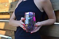 "Тамблер-стакан YES ""Party"", с блестками, 300мл код: 707008, фото 4"