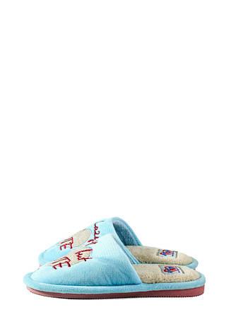 Тапочки кімнатні дитячі Home Story блакитний 21436 (30), фото 2