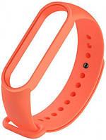 Змінний ремінець для фітнес трекера Mi Band 5 Orange