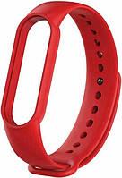 Змінний ремінець для фітнес трекера Mi Band 5 Red
