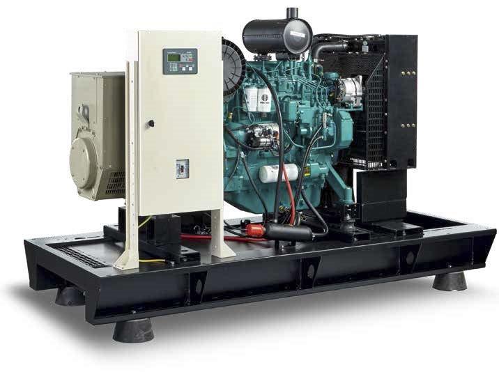 Дизельный генератор Current CR-45 (33 кВт) + подогрев и автоматический запуск