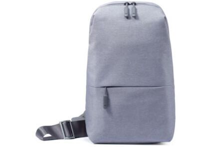 Рюкзак Xiaomi Mi City Sling Bag (Light Grey) (ZJB4070GL)