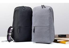 Рюкзак Xiaomi Mi City Sling Bag (Light Grey) (ZJB4070GL), фото 3