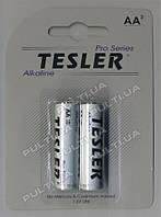 Батарейки TESLER ALKALINE LR06-2  SIZE  AA 2 штуки блистер
