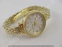 Часы Skmei MK P075L (013490) женские золотистые белый циферблат копия, фото 1