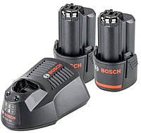 Комплект Bosch Starter-Set 2xGBA 12V 2 Ah + GAL 1230 CV (1600A002X1)