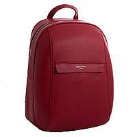 Рюкзак жіночий міський зі шкірозамінника David Jones RU-DJ19154 червоний